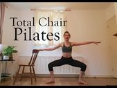 Total Chair Pilates Workout (Barre Workout) - YouTube #pilatesworkoutvideos