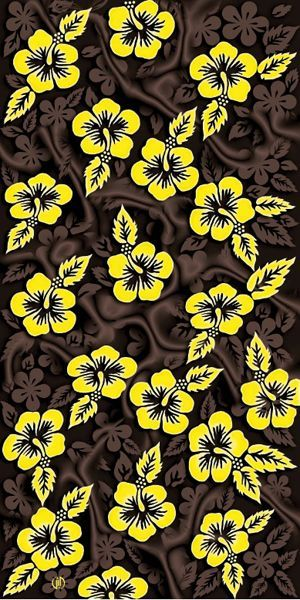 381d0a1febe These Hawaiian Flowers Fiber Reactive Beach Towels are great for poolside  parties, corporate gifts.