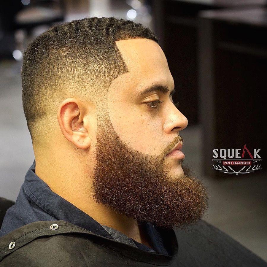 squeakprobarber bald fade