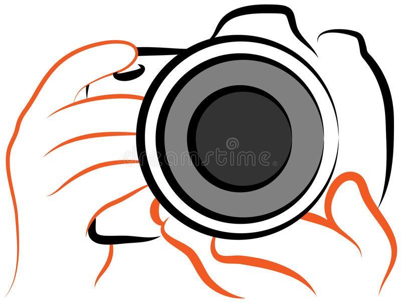 Camera Logo Illustration Of Camera Holding Hands Camera Logo Camera Logos Design Best Photography Logo