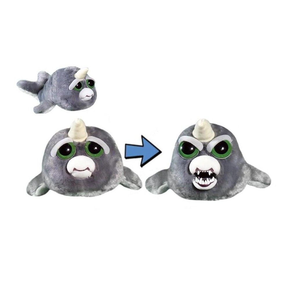 William Mark Corp Feisty Pets 8 Plush Billy Blubberbutt Narwhal In 2020 Disney Stuffed Animals Plush Animals Plush Stuffed Animals