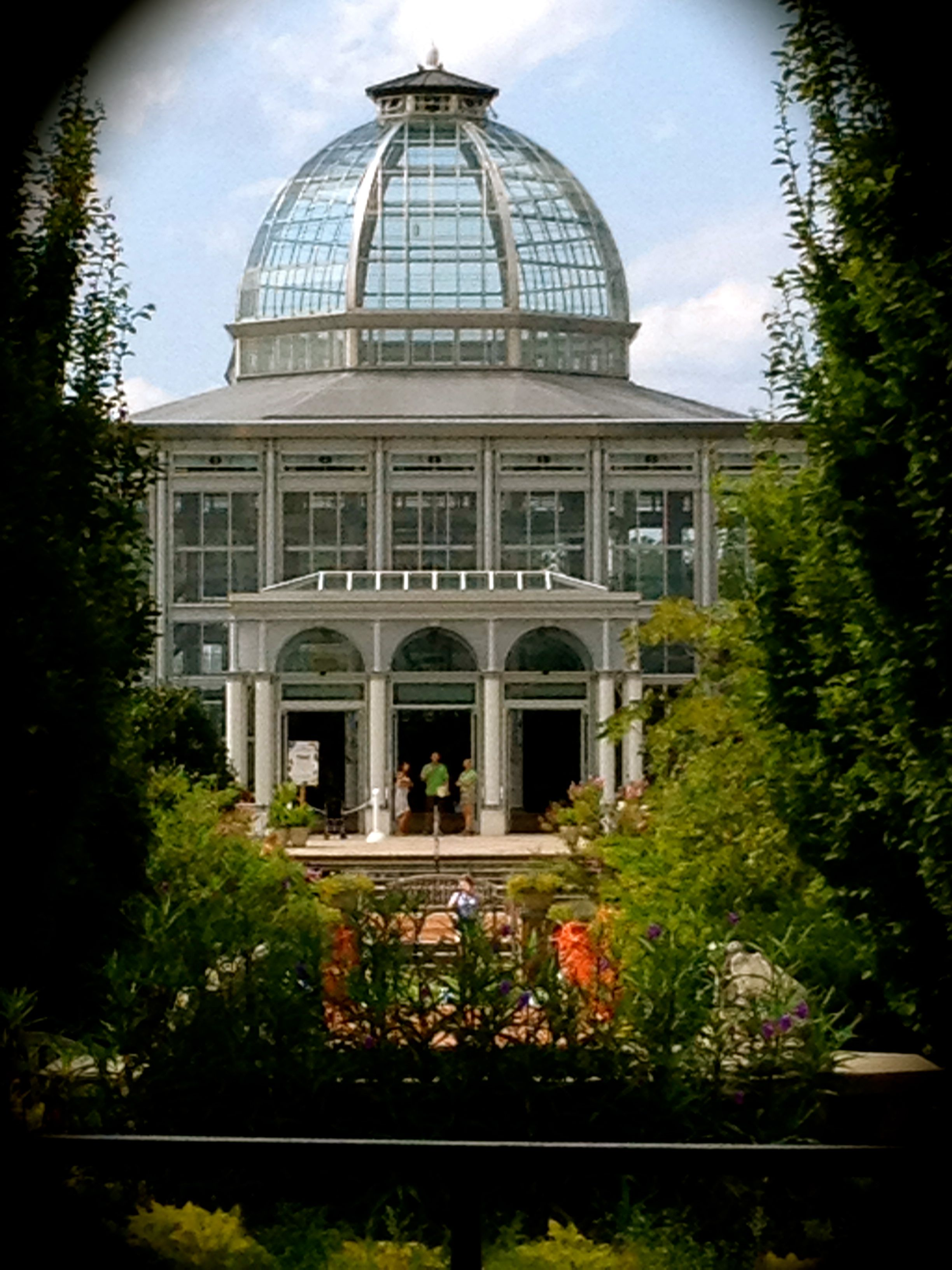 Beautiful conservatory at Lewis Ginter in Richmond