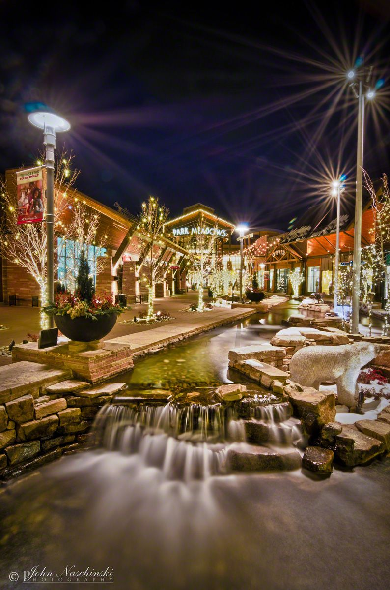 Pictures of park meadows mall at christmas meadow real