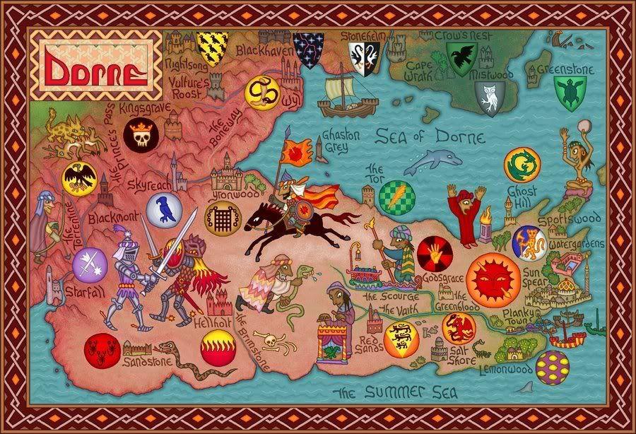 Mapas En Cancion De Hielo Y Fuego Mapa Juego De Tronos Cancion