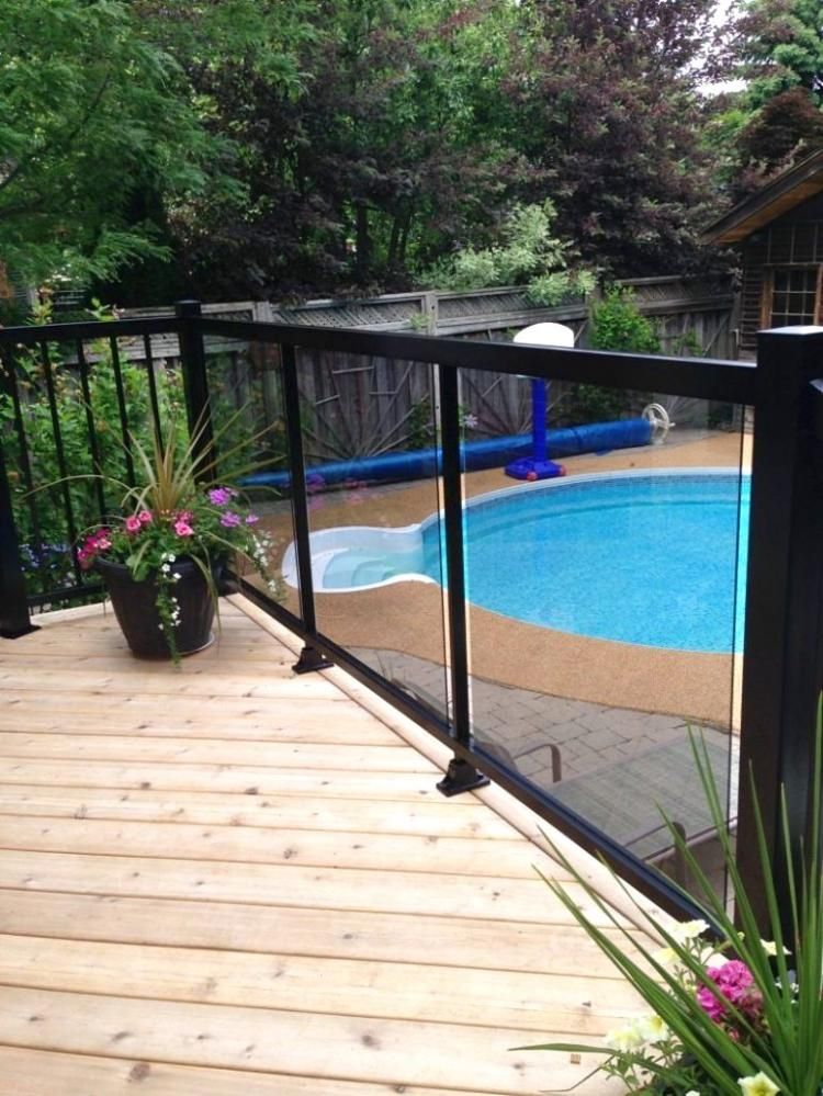 Amazing Rooftop Deck Railing Ideas | Patio railing ...