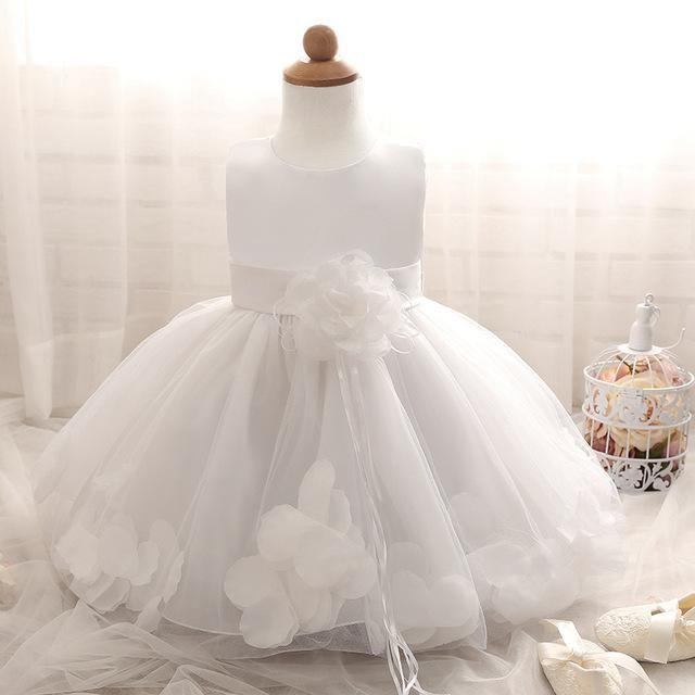 Baby Princess Dress Flower Girls Party Christening Wedding Birthday Tutu Dresses