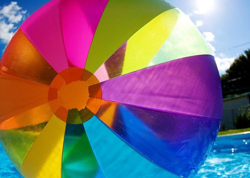 Beach Ball Color What S My Favorite Color Beach Ball My
