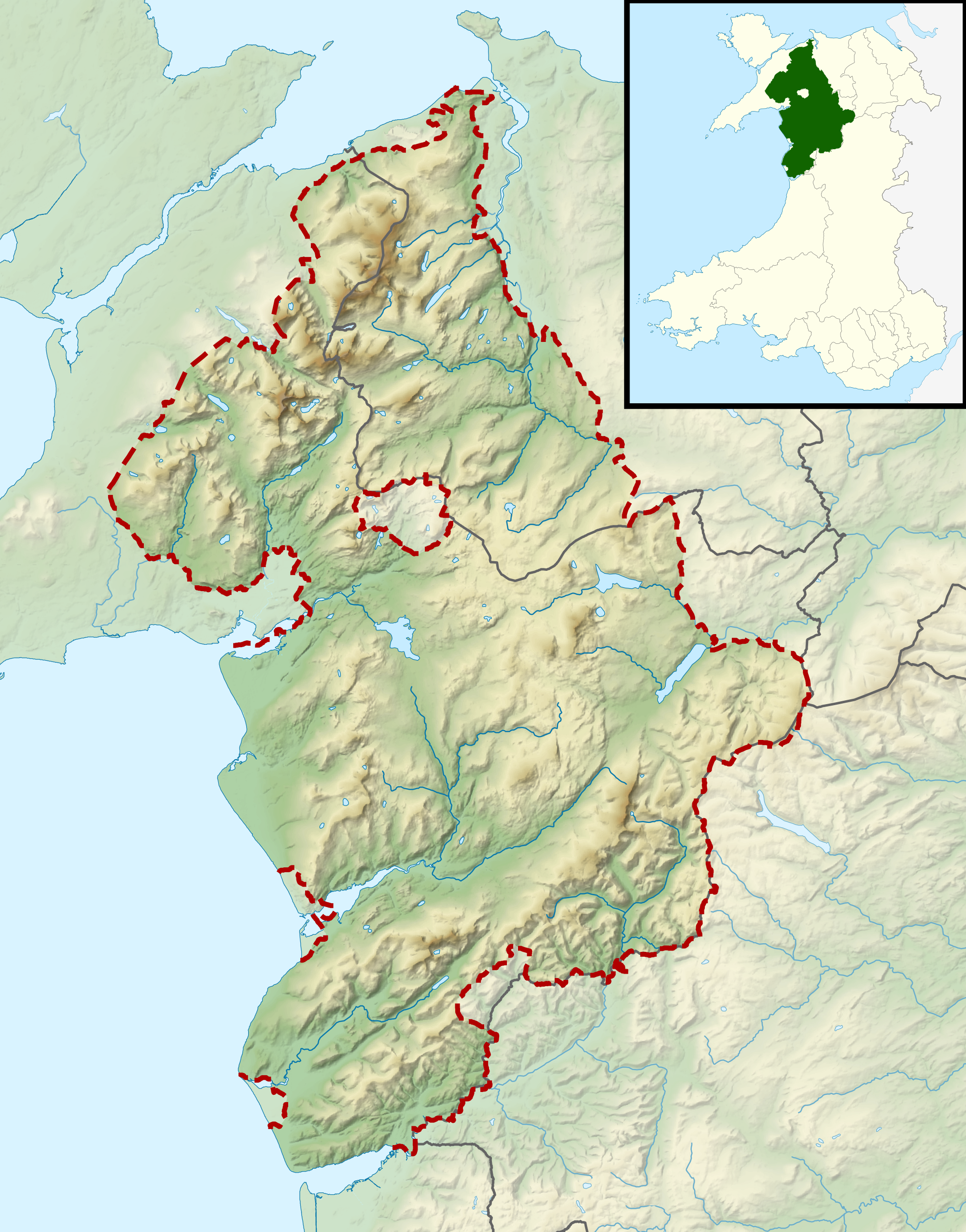 Snowdonia National Park Map Best things to do in Snowdonia National Park | sabbatical