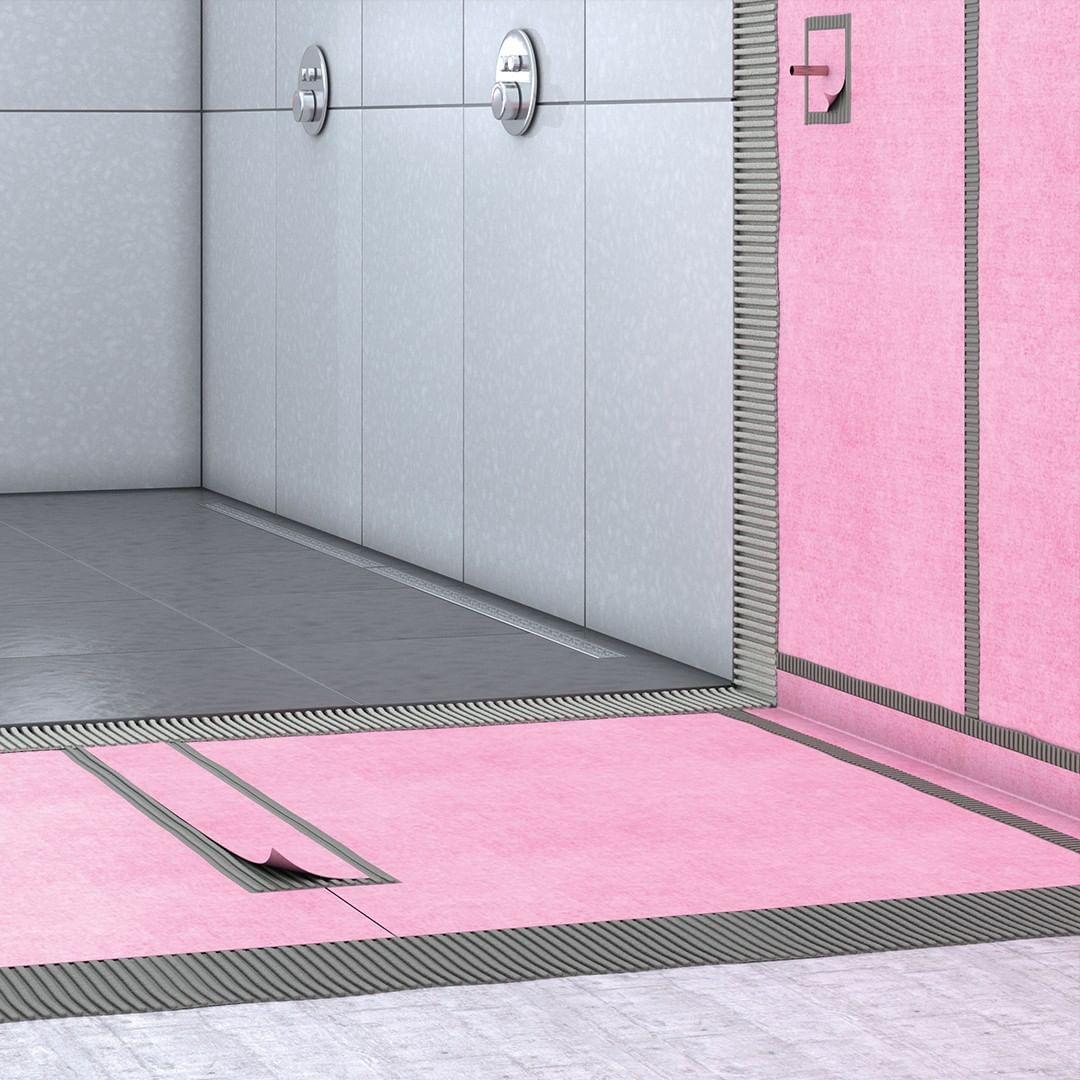 Clever Abdichten Entkoppeln Und Entwassern Mit Alferground Bad Badezimmer Abdichten Abdichtung Alferpro Aluvalley Ausbau Sanierung Bodenbelag N