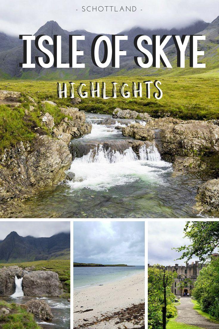 Meine Top 3 Sehenswürdigkeiten auf der Isle of Skye, Schottland #aroundtheworldtrips