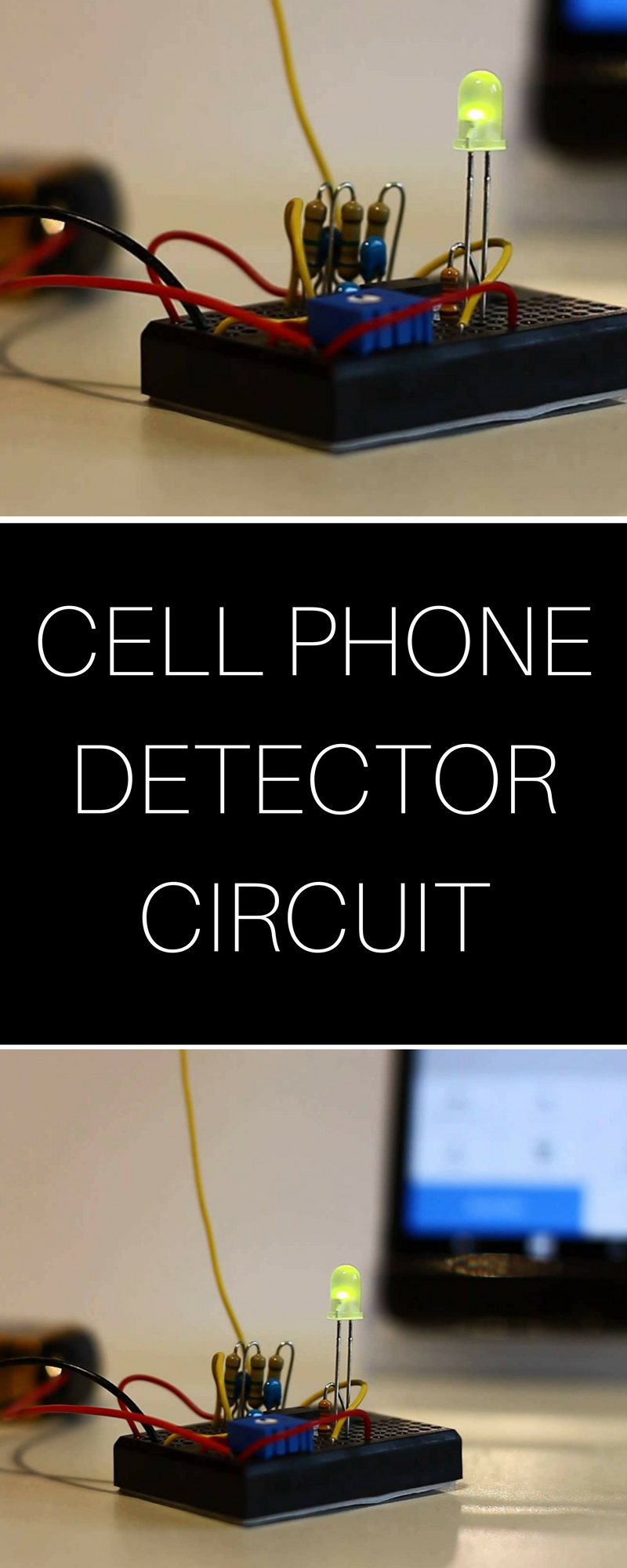 Cell Phone Detector Circuit Electrical Engineering Pinterest Electronic Drawing Software Circuits Pic