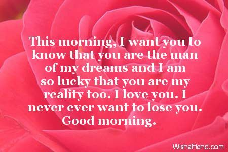 Good Morning Love Quotes For Him Simple Goodmorningquotesforhim32 450×300  I Love You