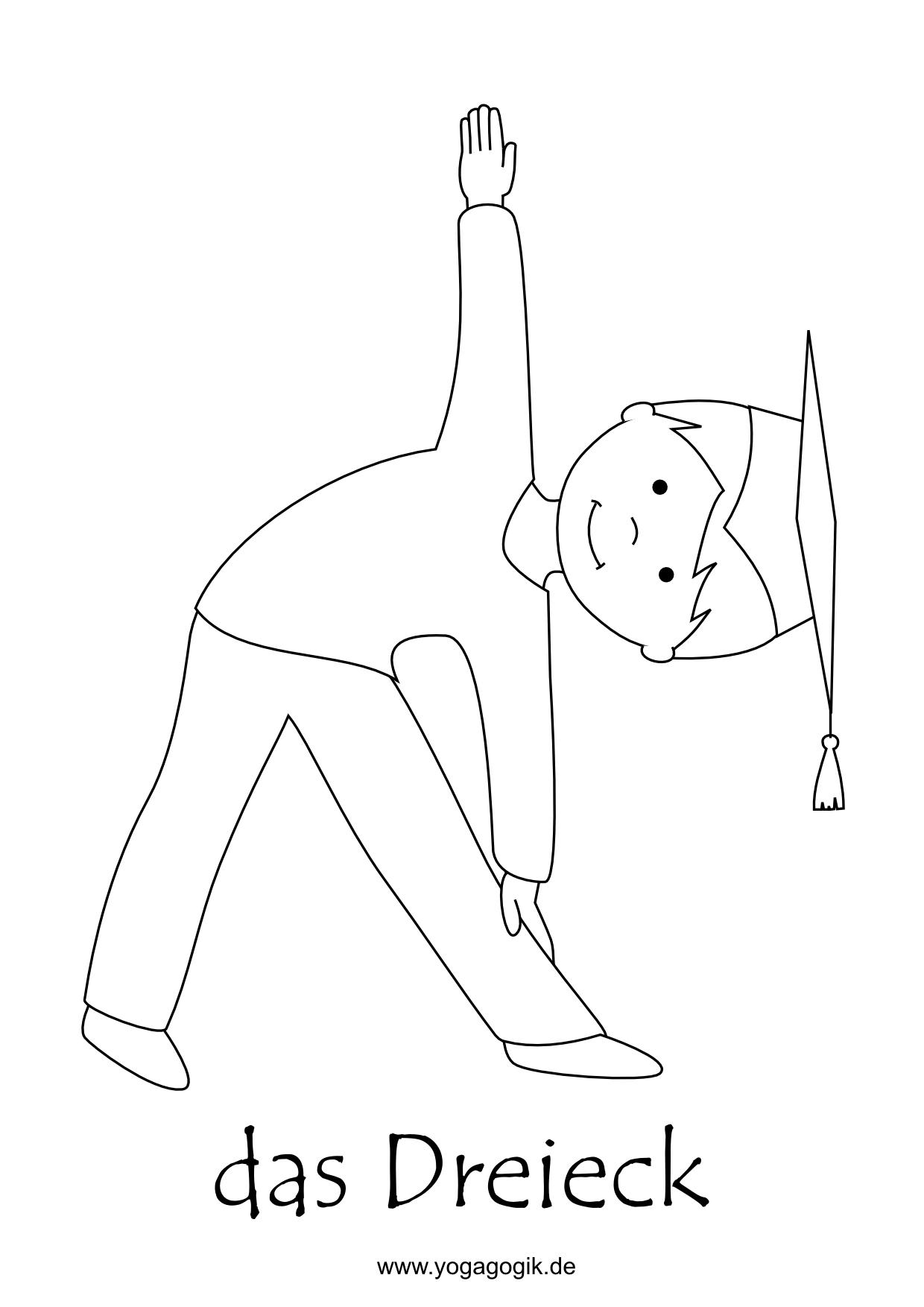 ausmalbilder yoga