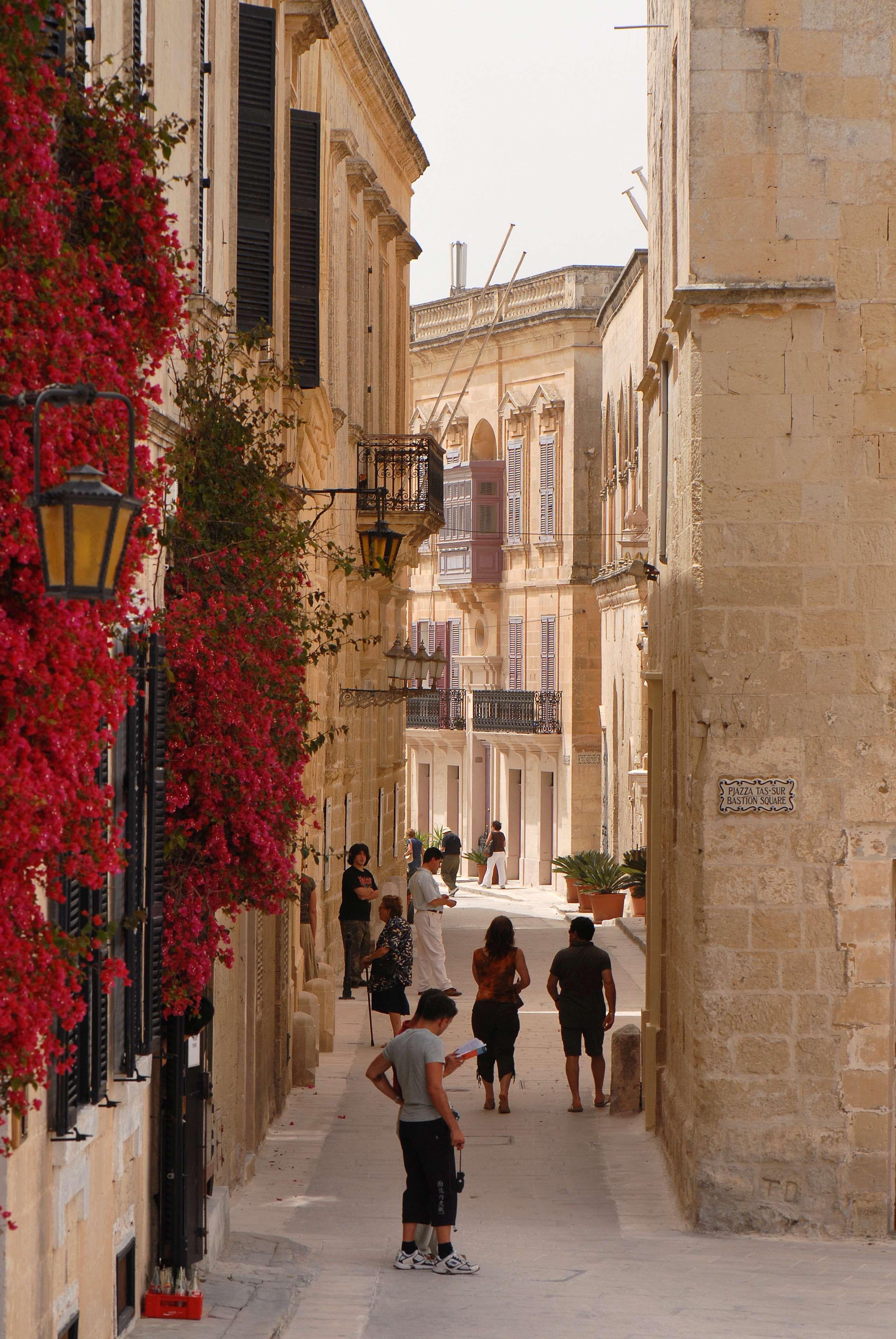 La rue Mdina street malta voyage malte
