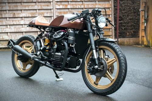 Honda CX500 Cafe Racer by Geert Billiet #motorcycles #caferacer #motos | caferacerpasion.com