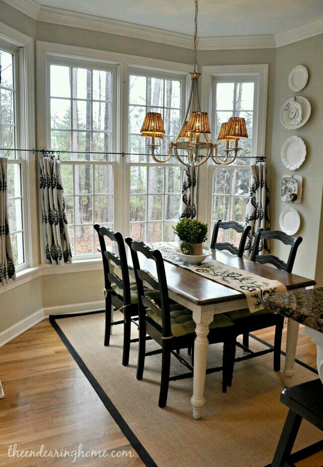 French Country Dining Room Decor Joanna Gaines