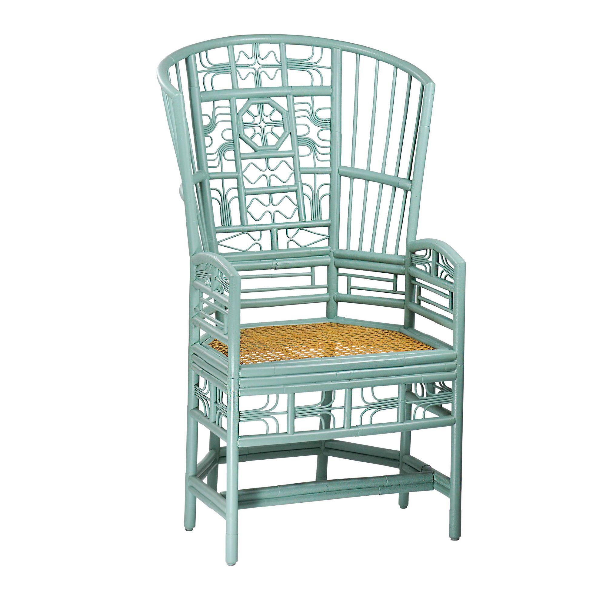 Rattan Chair in 2020 High back chairs, Chair design, Chair
