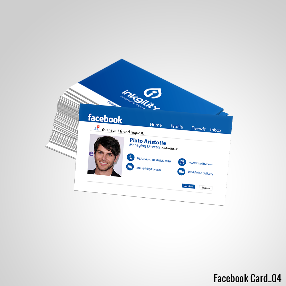 Facebook business card facebook standard business cards facebook business card colourmoves Image collections