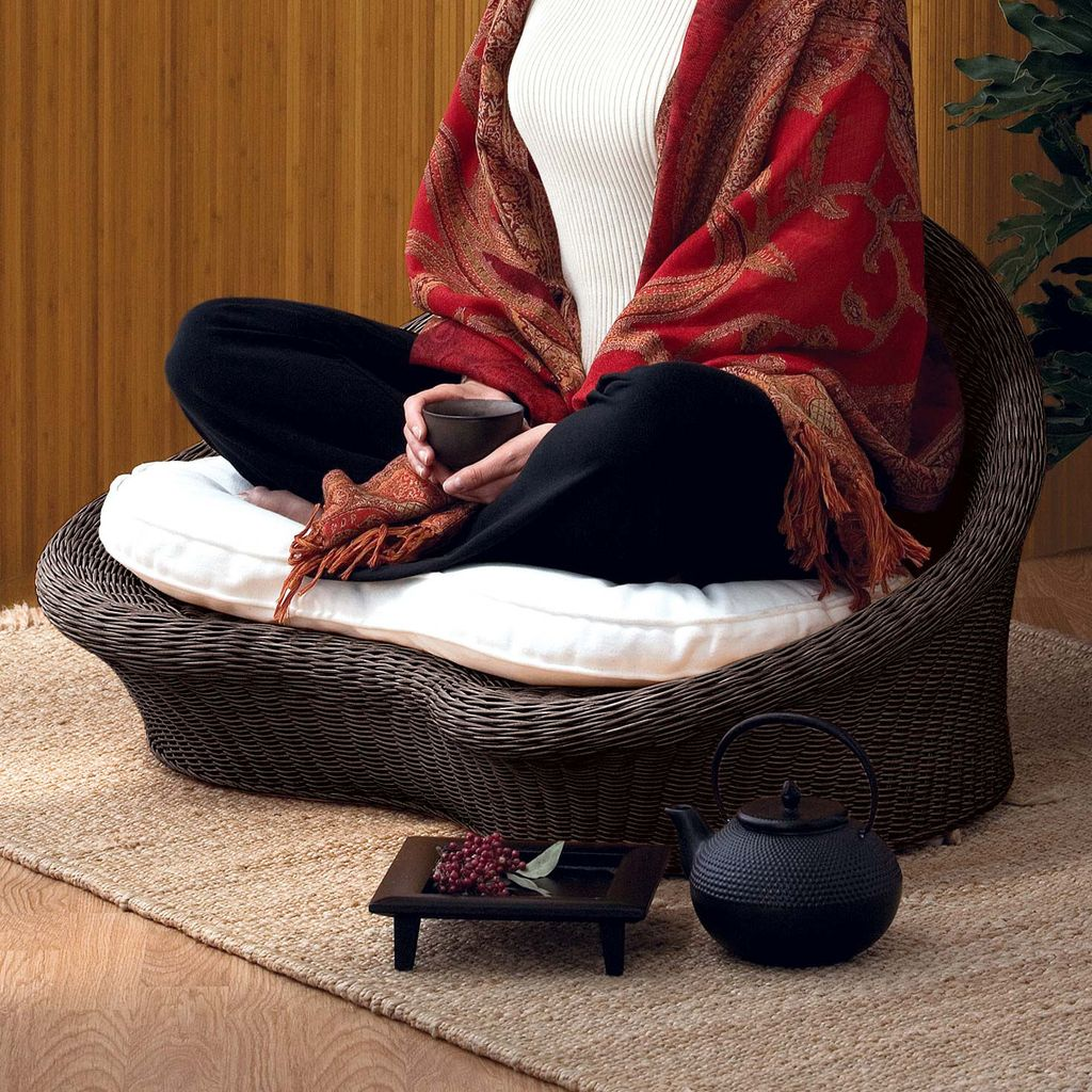 10 Must Have Yoga Accessories   Om   Pinterest   Meditation chair     I am seriously coveting this Gaiam Meditation Chair