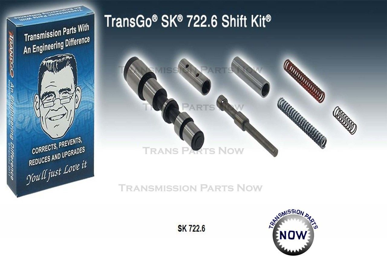Ford 4R70W 4R75W Transmission Master Rebuild Kit With Transgo S//K 04-UP
