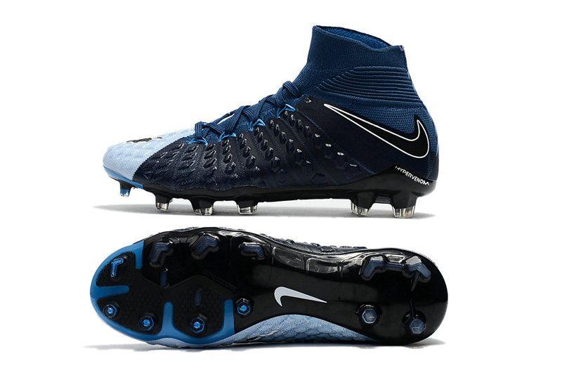 acheter populaire c0d1a ea19c New Flyknit Nike Hypervenom Phantom 3 DF FG Soccer Boot ...