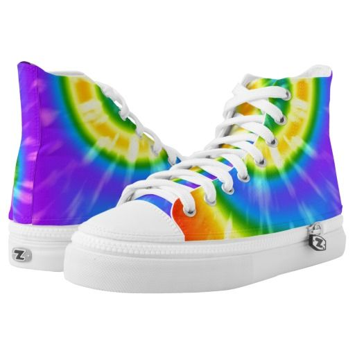 reputable site 48a28 05759 Tie Dye Pride Rainbow LGBT Shoes