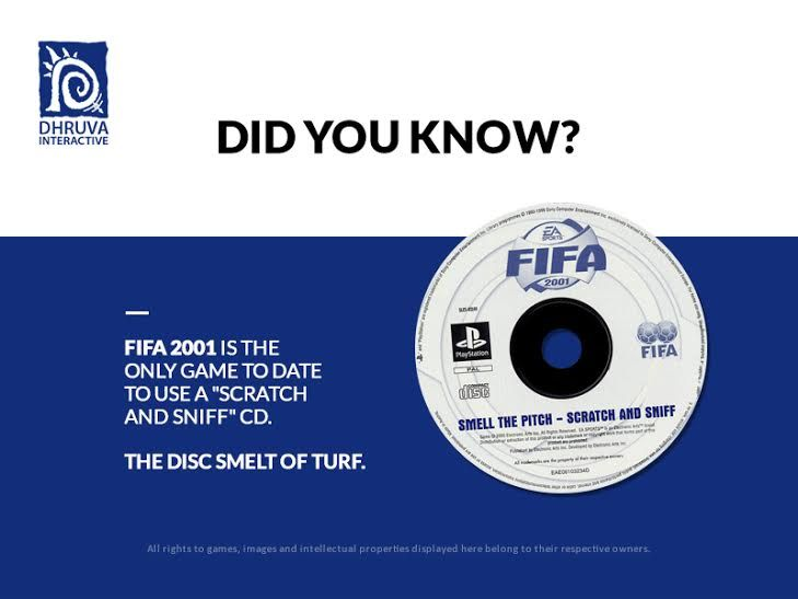 FIFA 2001 is the first and only game to date to use a \