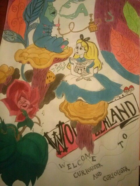 Alice. Drawing. Just bored