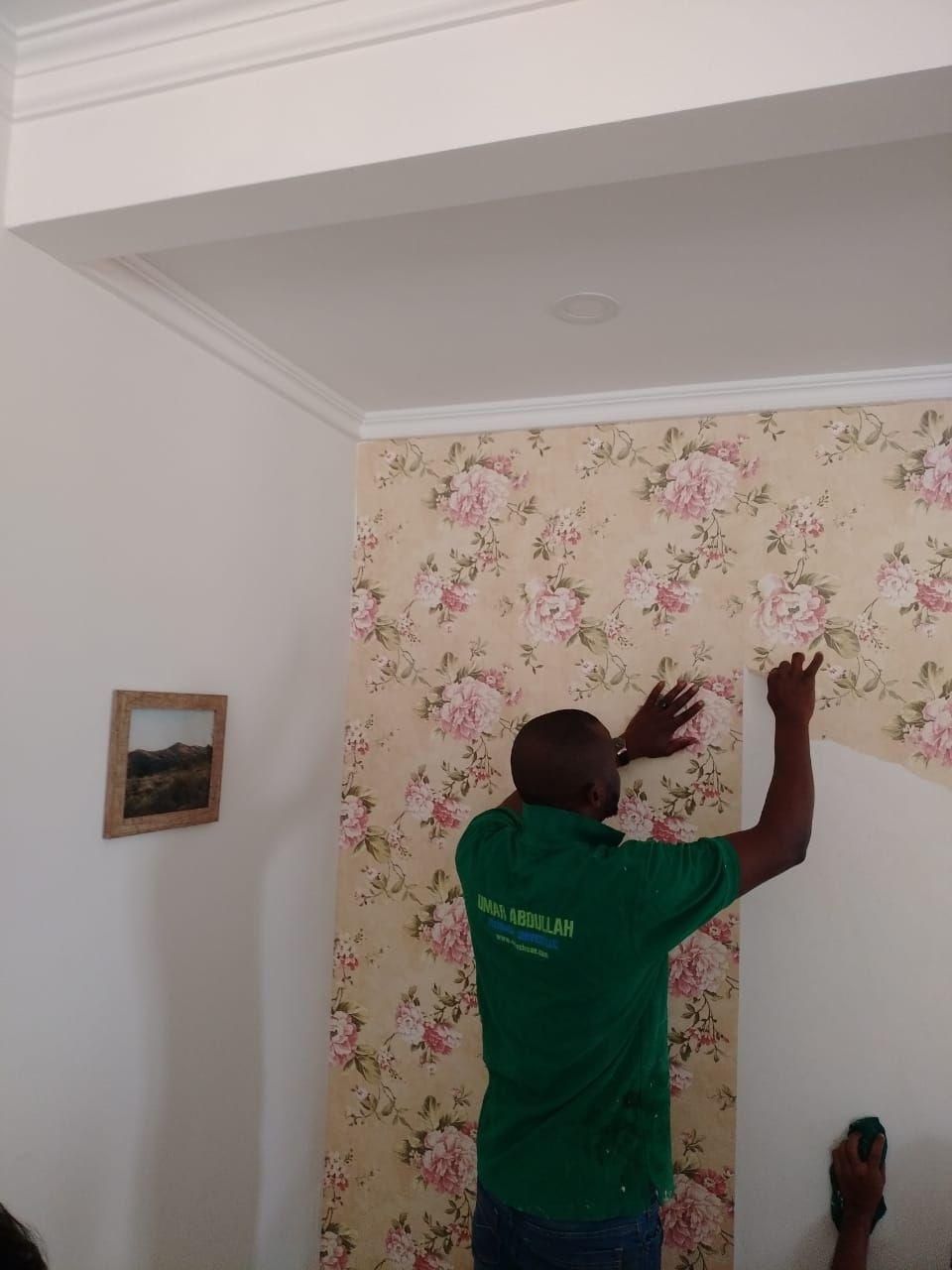 Wallpaper Removal Services In Dubai Removable Wallpaper Wallpaper Removal Services