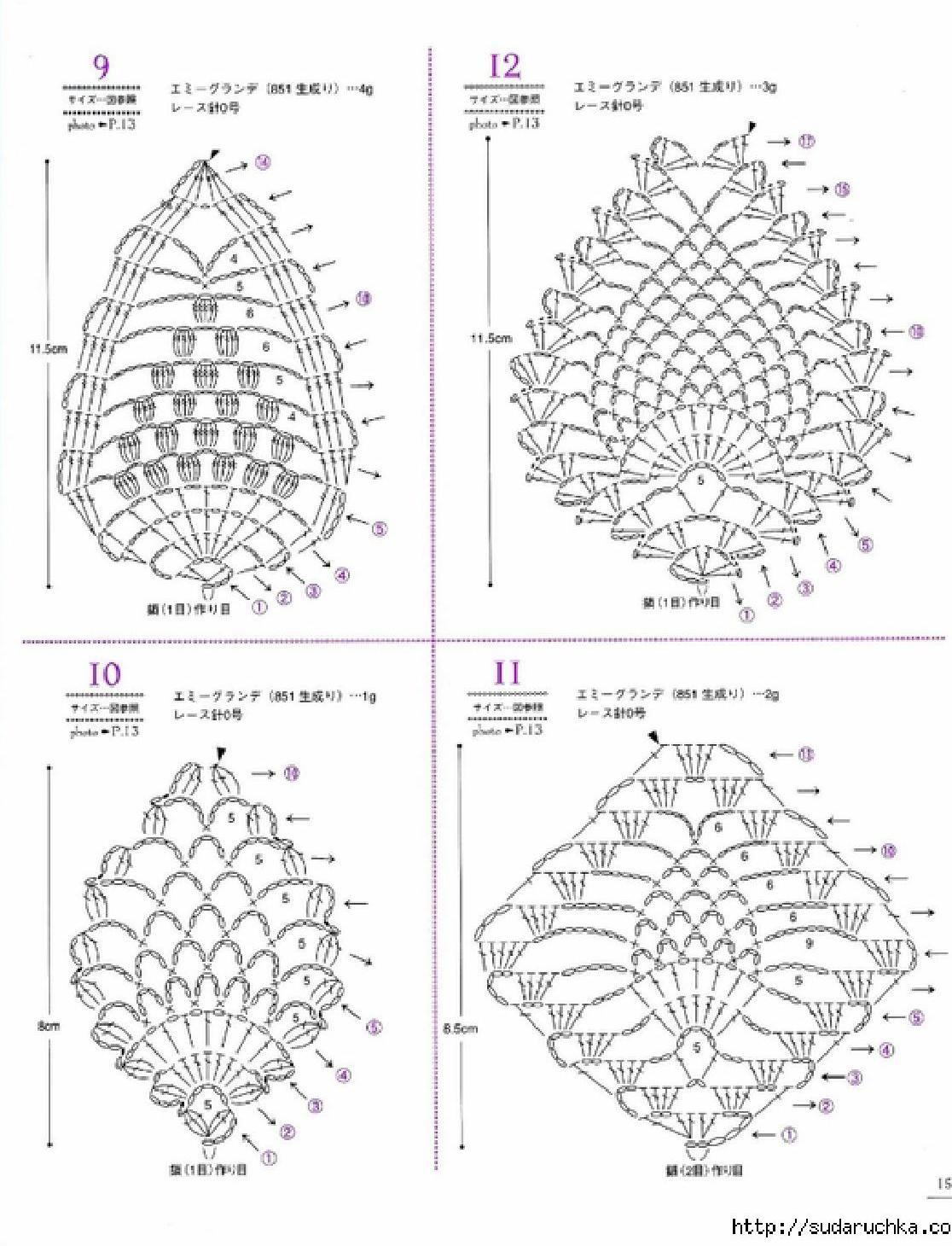 Asahi Original Lacework Pineapple Pattern