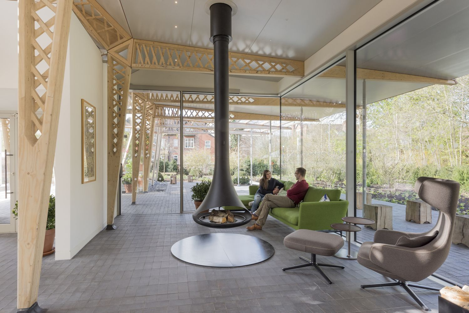 Gallery Of Maggie S Cancer Centre Manchester Foster Partners  # Muebles Norman Foster