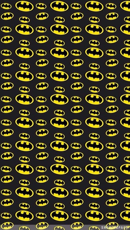 Yellow Batman Symbols
