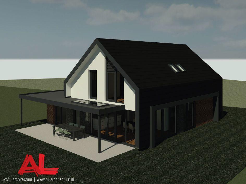 Al architectuur nieuwbouw nieuwbouwwoning vrijstaande villa