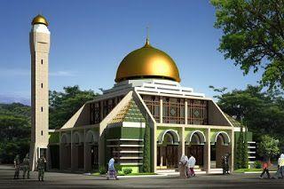 53 model desain masjid minimalis modern unik terbaru 2018