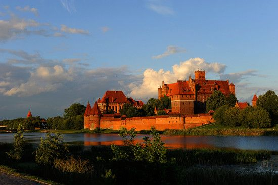 Malbork castle, Poland. Visited here yesterday- tons of castley inspiration!