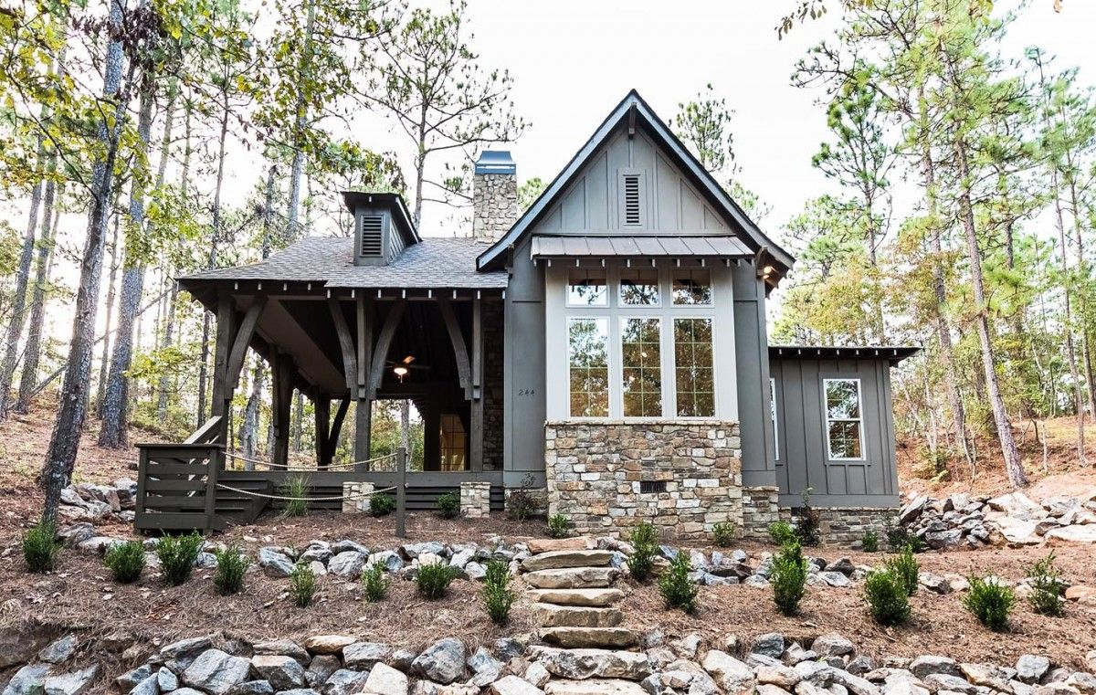 The Cottage Small Cottage Homes Cottage Plan Lake House Plans