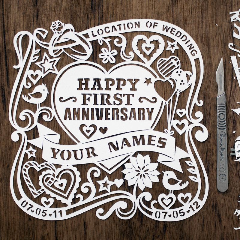 First Wedding Anniversary Gift Ideas Gifts For 1st Wedding Anniversary First Wedding Anniversary Gift First Wedding Anniversary 1st Wedding Anniversary