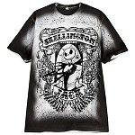 Disney Shirt for MEN - Tattoo Art Jack Skellington