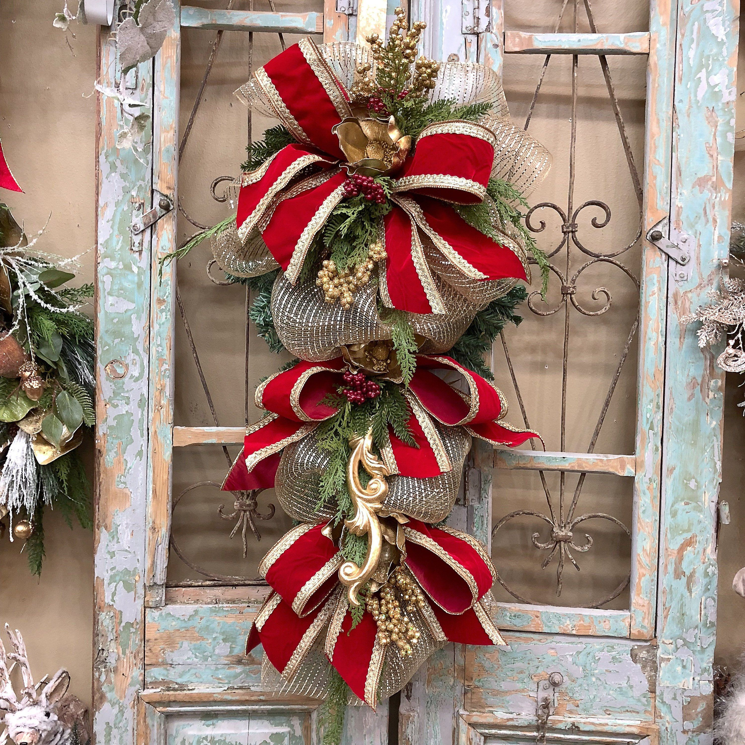 Christmas Swags Christmas Wreath Too Many Pins