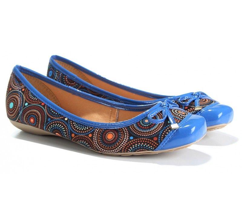 Sapatilha Couro Azul Bottero (Ref: 7663) http://www.sapatilhashop.com.br/blog/2014/12/15/lancamentos-da-semana-conforto-para-o-verao-com-bottero/