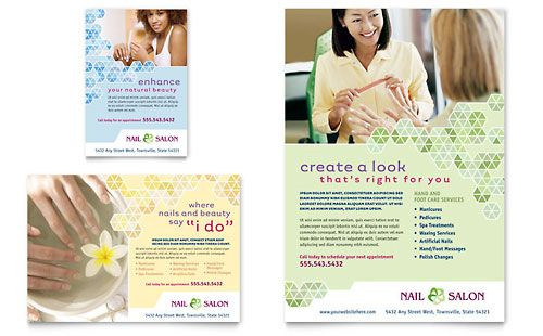 Salon Marketing Posters  Spa Pegs    Salons