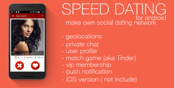 codecanyon - speed dating