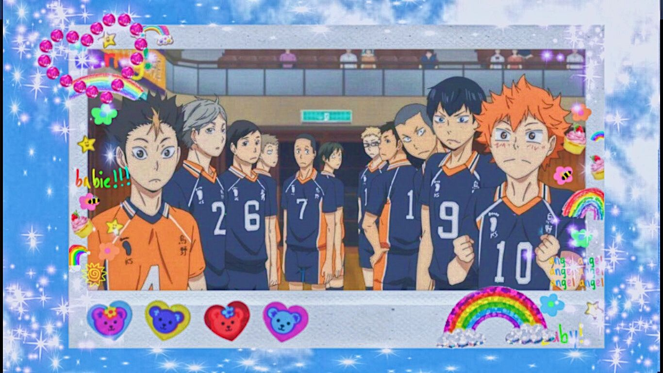Karasuno Laptop Wallpaper In 2020 Anime Wallpaper Live Laptop Wallpaper Haikyuu Wallpaper