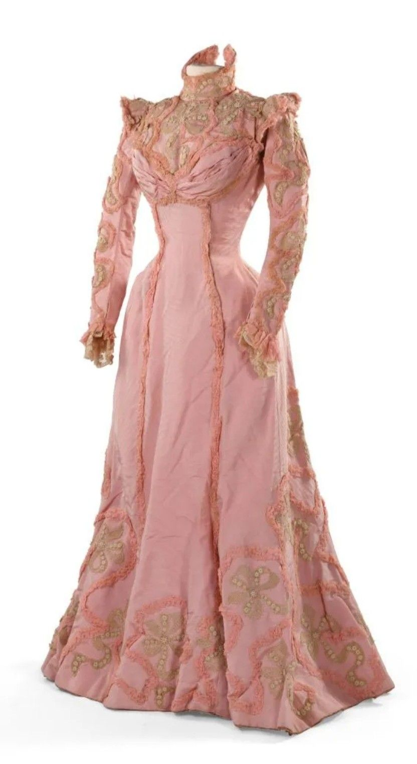 1890 95 Dresses Edwardian Gowns Vintage Attire [ 1522 x 832 Pixel ]