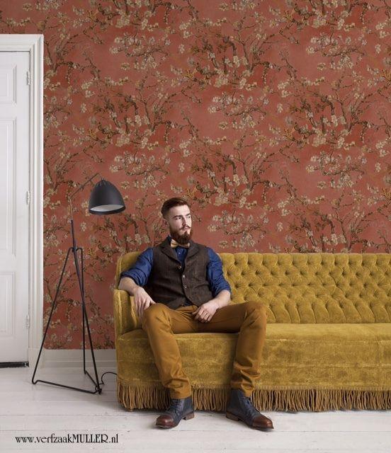 Wallpaper/Behang  van Gogh