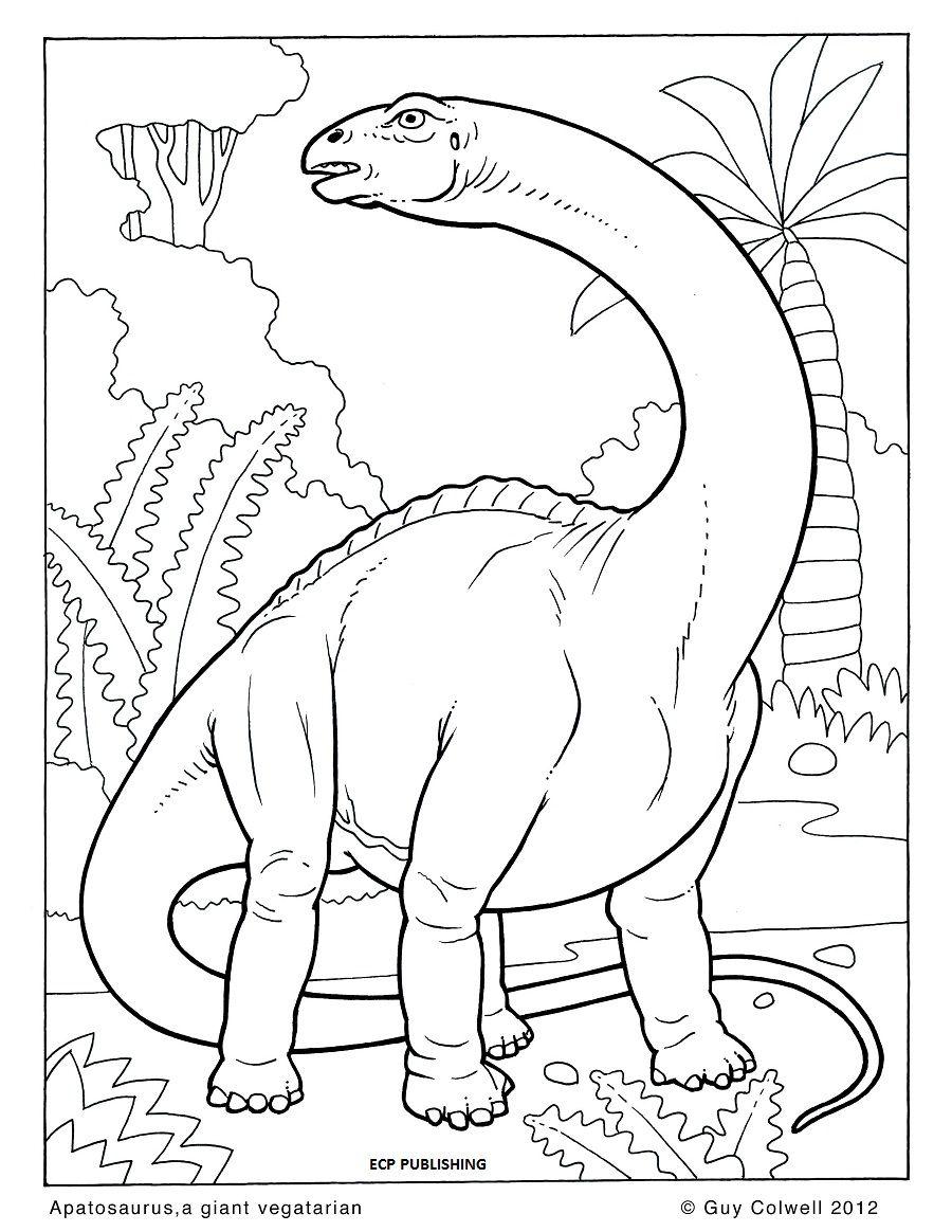 Dinosaur colouring pages | Grand kid fun | Pinterest | Libros para ...