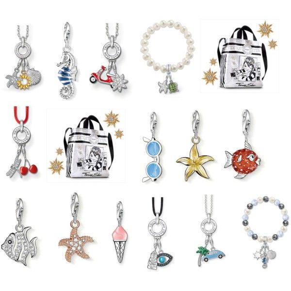 thomas sabo charm club summer by thomassabo official on polyvore thomas sabo charm club. Black Bedroom Furniture Sets. Home Design Ideas