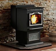 P43 Pellet Stove By Harman Classic Look For A Pellet Stove Pellet Stove Harman Pellet Stove Pellet Stove Hearth