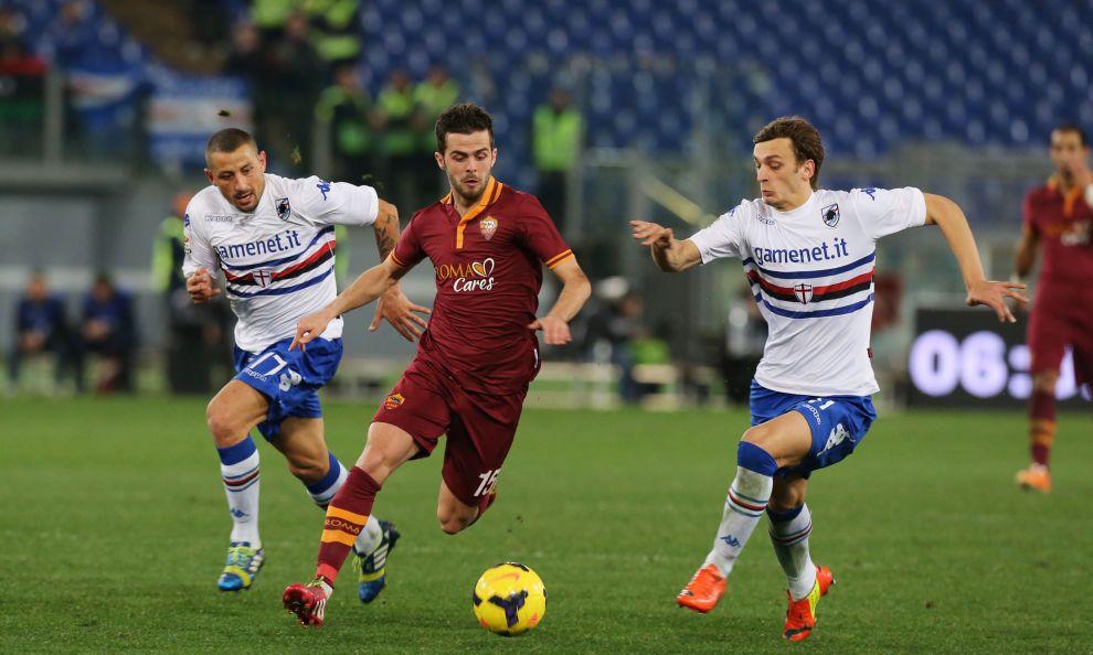 Miralem Pjanic - AS #Roma 3-0 Sampdoria - 2013/14