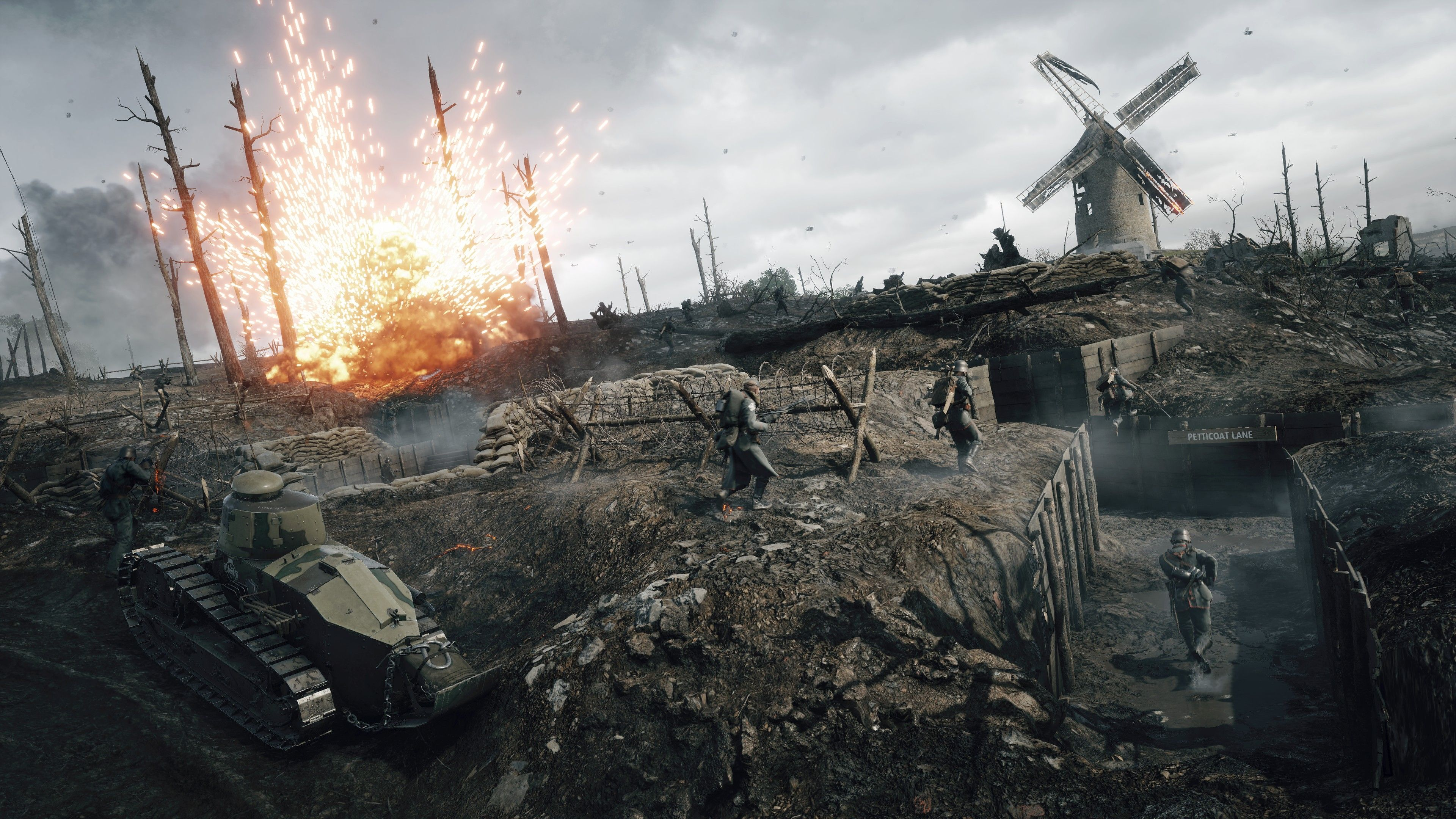 Image result for war scene wallpaper Battlefield 1, Army